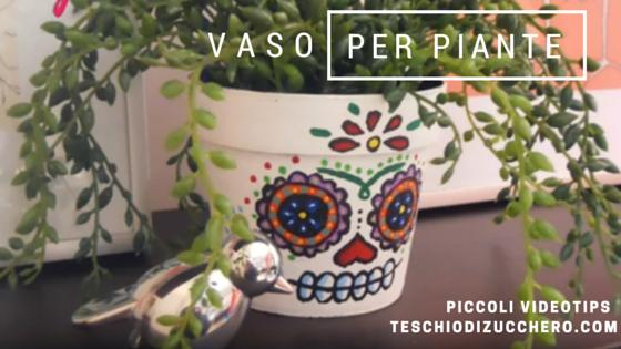 Vaso per piante - Dia de los Muertos