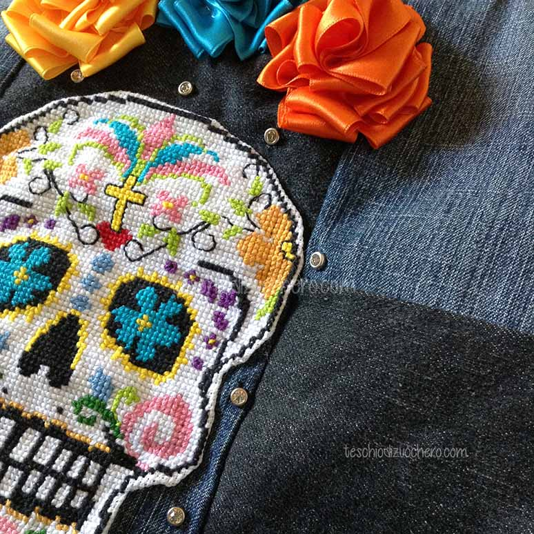 Borsetta in jeans fatta a mano nei minimi particolari