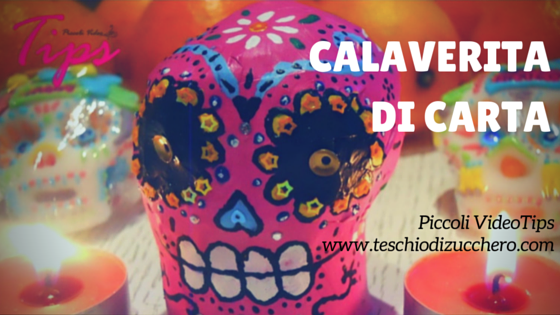 Calaverita di carta