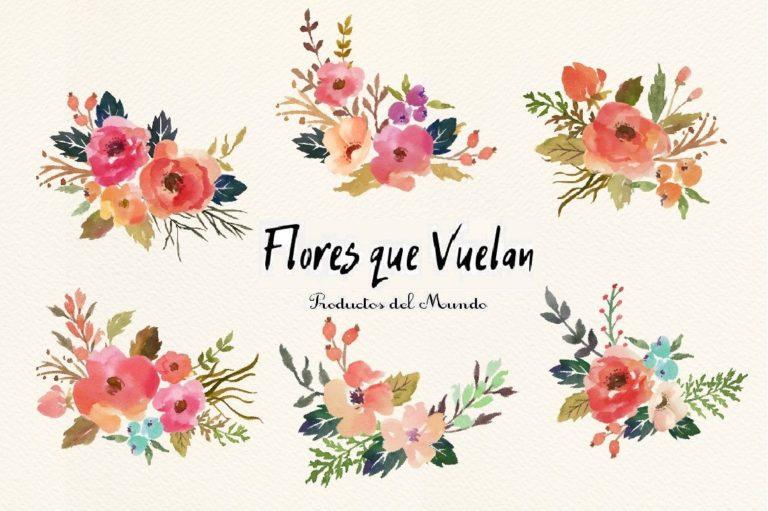 negozio flores que vuelan