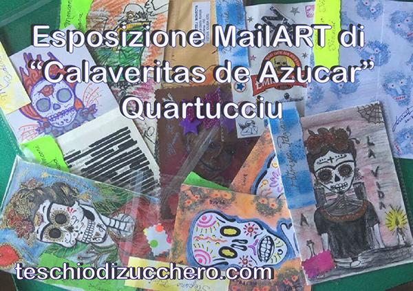 Esposizione Mail Art di Calaveritas